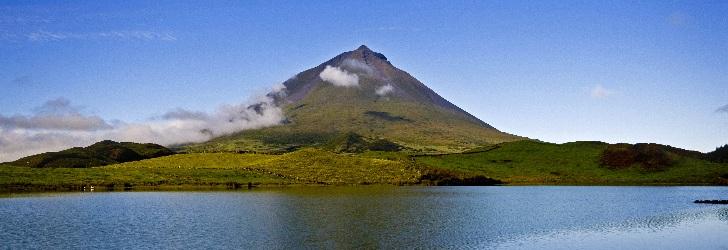 Pico Berg einem der 7  Naturwunder von Portugal
