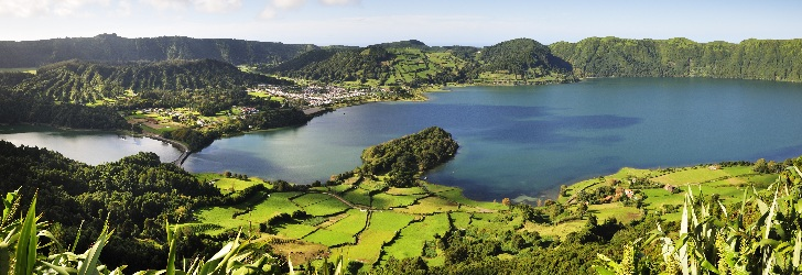 Sete Cidades Lake, biggest lake of the Azores