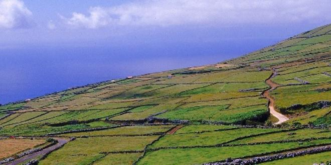 Fields in Corvo - Ecotourism Azores