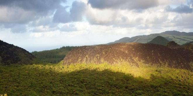 Mistérios Negros - one of the hiking trails on the Terceira island